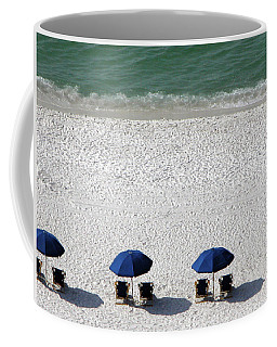 Coffee Mug featuring the photograph Beach Therapy 2 by Marie Hicks