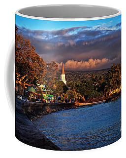 Beach Town Of Kailua-kona On The Big Island Of Hawaii Coffee Mug