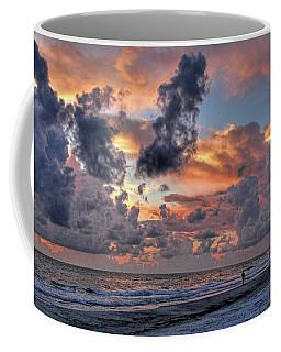 Beach Walk - Florida Seascape Coffee Mug