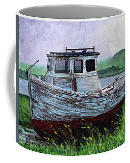 Beached At Bay Of Ayre Coffee Mug