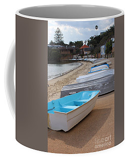 Beached Boats Coffee Mug