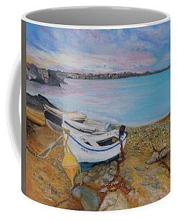 Beached Boats Coffee Mug
