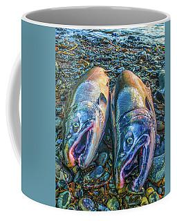 Beached Coho Coffee Mug