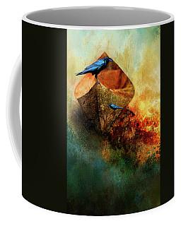 Beached Crow Coffee Mug