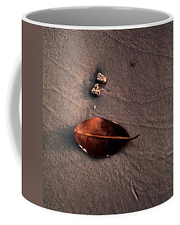 Beached Leaf Coffee Mug by Brent L Ander