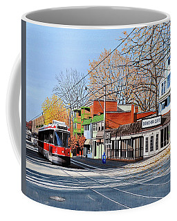 Beacher Cafe Coffee Mug by Kenneth M  Kirsch