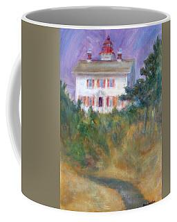 Beacon On The Hill - Lighthouse Painting Coffee Mug
