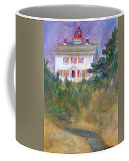 Beacon On The Hill - Lighthouse Painting Coffee Mug