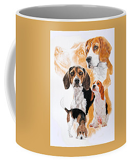 Beagle Hound Medley Coffee Mug