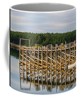 Coffee Mug featuring the photograph Beals Island, Maine  by Trace Kittrell