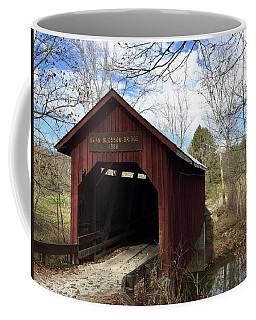 Bean Blossom Bridge, 1880 Coffee Mug