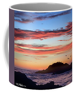 Bean Hollow Beach Coffee Mug by Tim Fitzharris