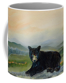 Bear Alone On Blue Ridge Mountain Coffee Mug