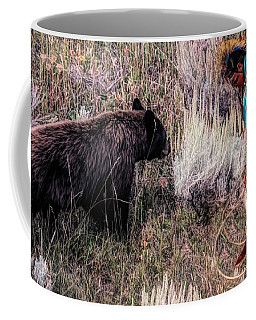 Bear And Navajo Coffee Mug