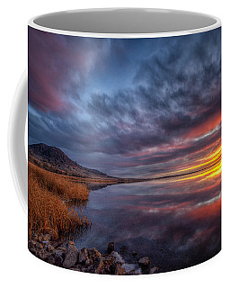 Bear Butte Lake Sunrise Coffee Mug