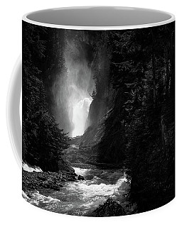 Bear Creek Falls In Spring Coffee Mug