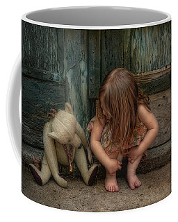 Coffee Mug featuring the photograph Bear Feet by Robin-Lee Vieira