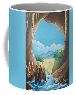 Bear Going Home Coffee Mug