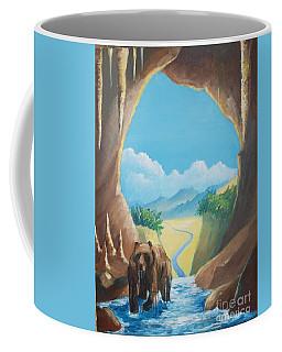 Bear Going Home Coffee Mug