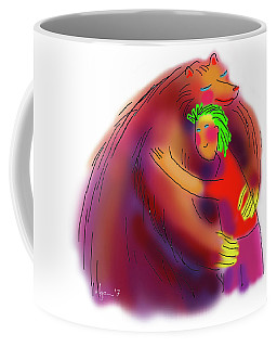 Bear Hug Coffee Mug