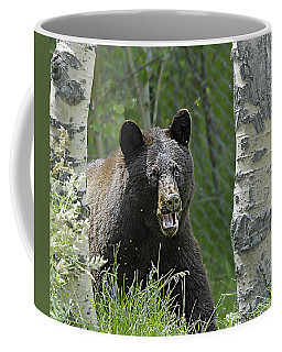 Bear In Yard Coffee Mug