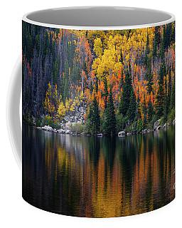 Bear Lake Autumn Reflections Coffee Mug