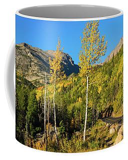 Bear Lake Road In Fall Coffee Mug