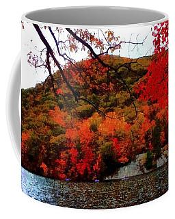 Bear Mountain Hessian Lake Autumn Coffee Mug