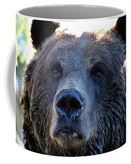 Bear On Grouse Coffee Mug