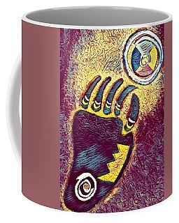 Bear Paw Print 3  Coffee Mug