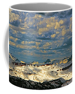 Bear Tooth Mountain Range Coffee Mug
