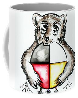 Bear With Medicine Wheel Coffee Mug