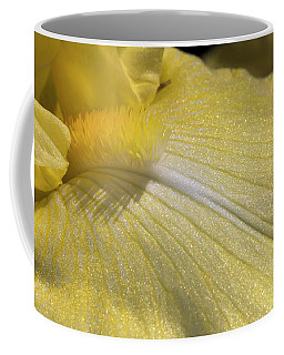 Bearded Iris Closeup Coffee Mug