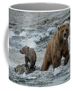 Bears Being Watchful  Coffee Mug