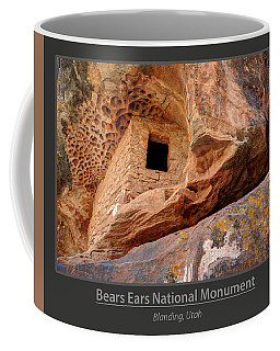 Bears Ears National Monument - Anasazi Ruin Coffee Mug by Gary Whitton