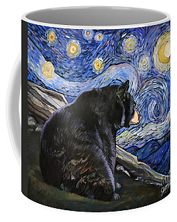 Beary Starry Nights Coffee Mug