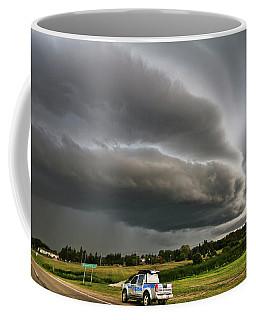 Beast Over Yorkton Coffee Mug