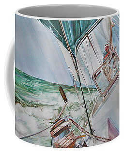 Beating Windward Coffee Mug