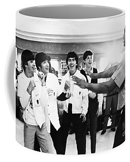Beatles And Clay, 1964 Coffee Mug