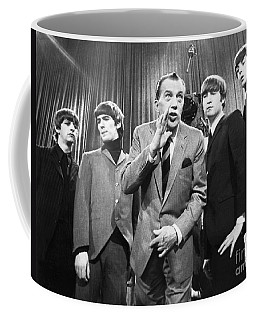 Beatles And Ed Sullivan Coffee Mug