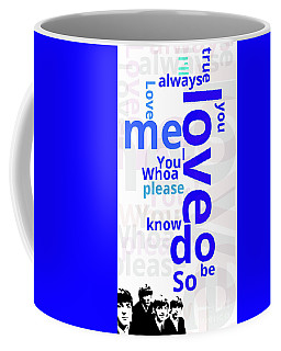 Beatles, Can You Guess The Name Of The Song? Love... Coffee Mug