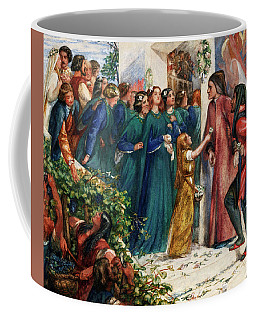 Beatrice Meeting Dante At A Marriage Feast, Denies Him Her Salutation Coffee Mug