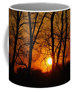 Beauatiful Red Sunset Coffee Mug