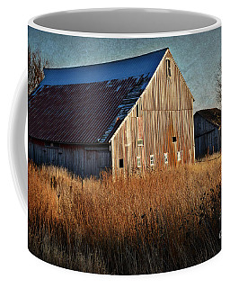 Beautiful Barn In Autumn  Coffee Mug
