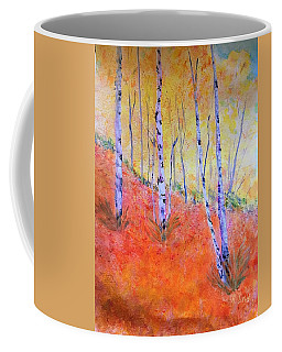 Beautiful Birches Coffee Mug