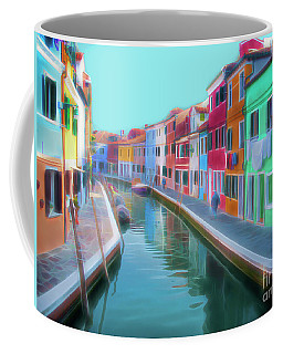Beautiful Burano Venice Italy Coffee Mug
