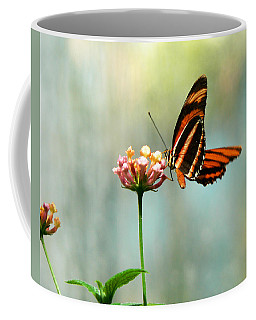 Beautiful Butterfly Coffee Mug by Laurel Powell