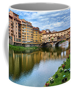 Ponte Vecchio On A Spring Day In Florence, Italy Coffee Mug