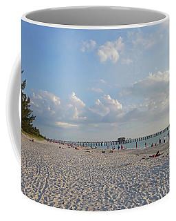 Beautiful Day On Naples Beach Naples Florida Coffee Mug