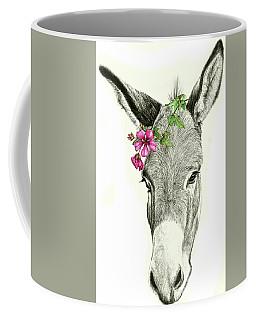 Beautiful Donkey Coffee Mug by Heidi Kriel